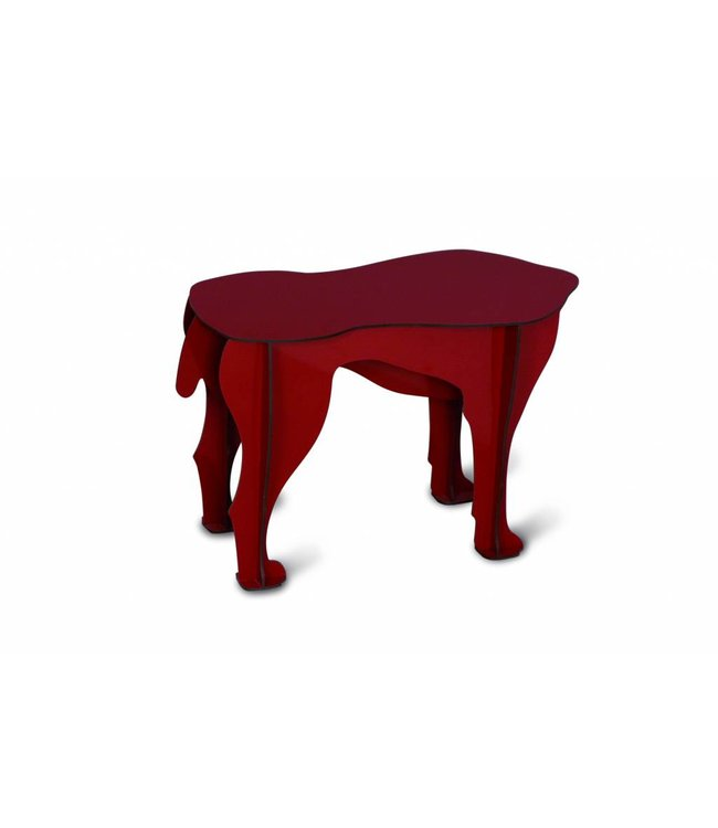 Pad Home Sultan Small Table - Red