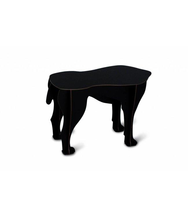 Pad Home Sultan Small Table - Black