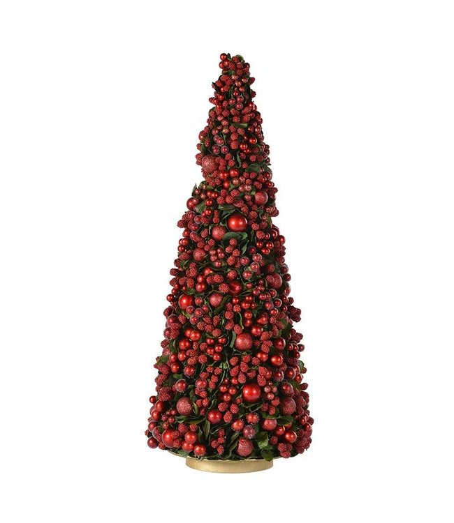Large Red Berry Cone Tree