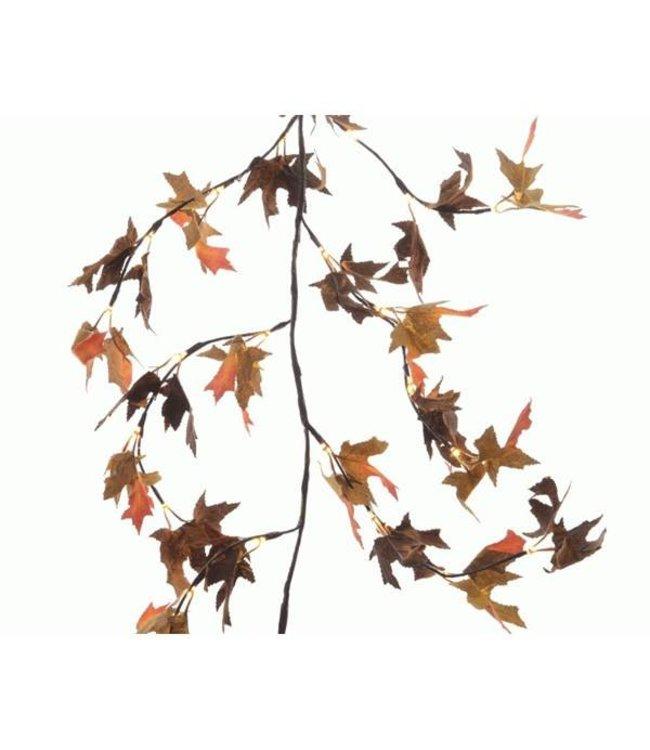 Maple Leaf Garland LED