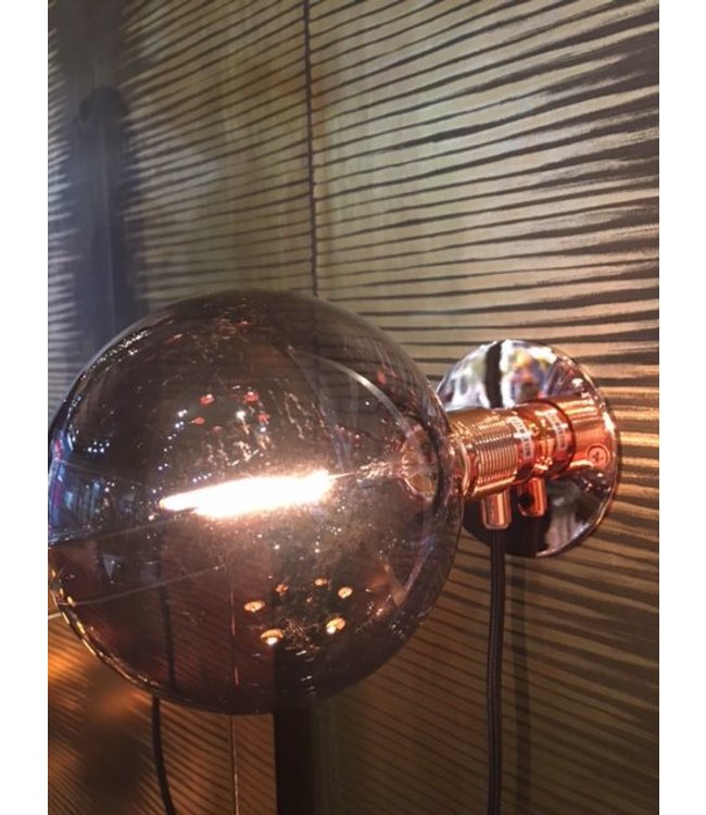 Copper Wall Light with LED Bulb