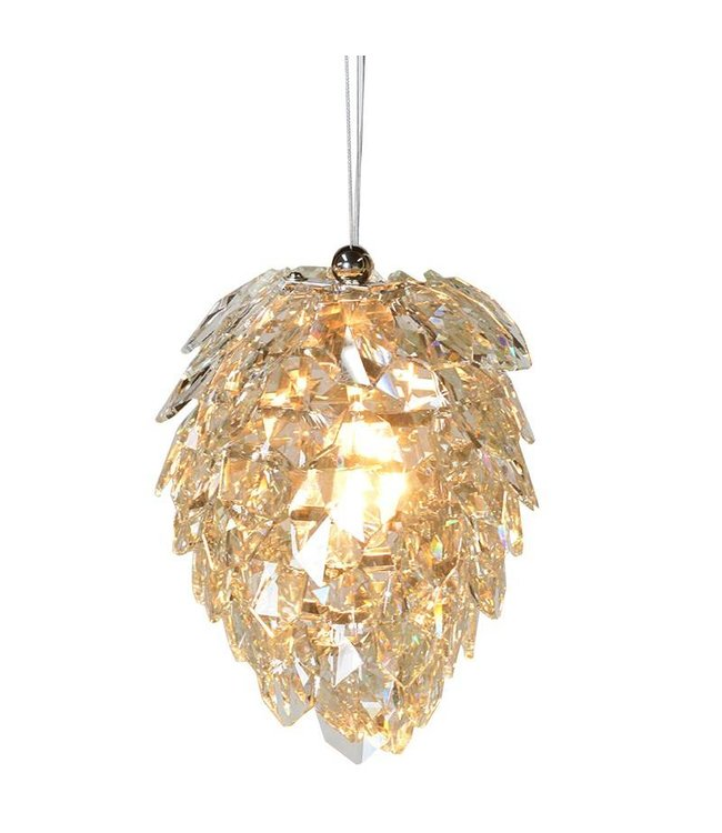 Small Crystal Petal Chandelier