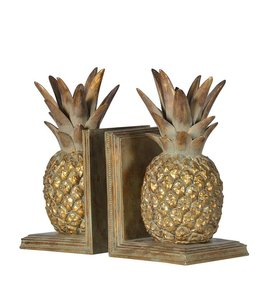 Coach Pair of Pineapple Bookends