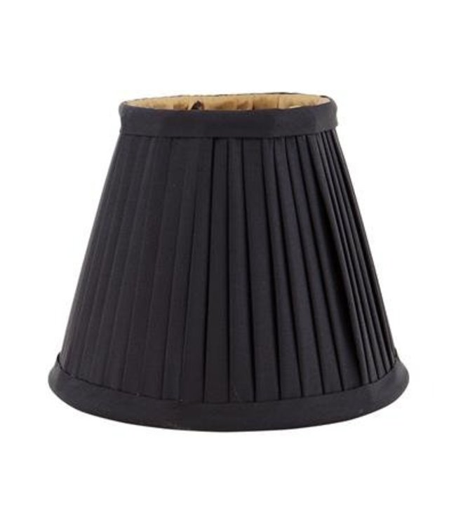 Mini Black/Gold Silk Shade