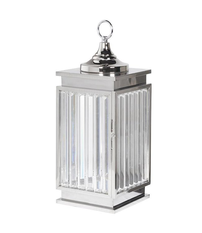Small Cut Glass Lantern