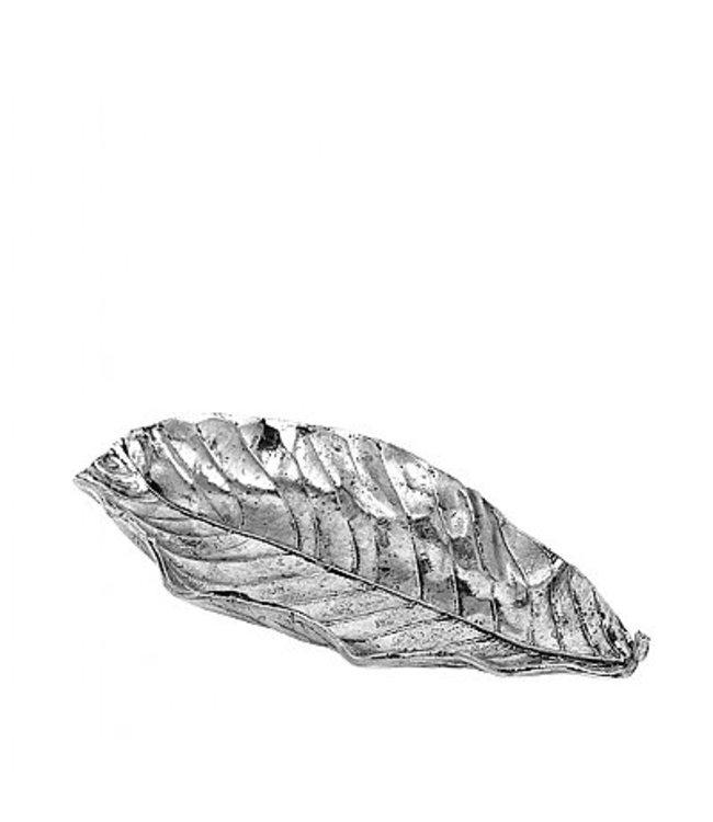 Broste Deco Leaf Silver Large