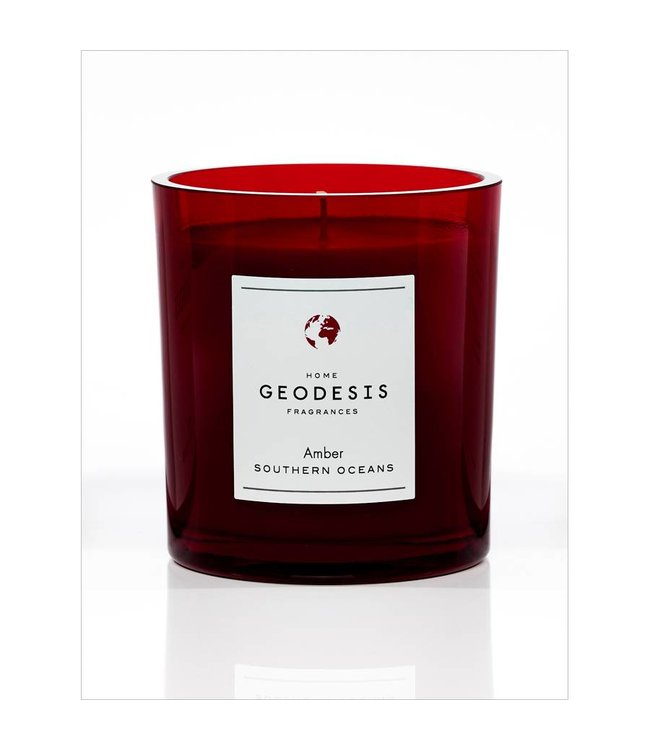 Geodesis Parfums Amber Scented Candle 260g