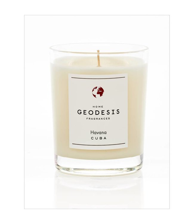 Geodesis Parfums Havana Scented Candle 180g