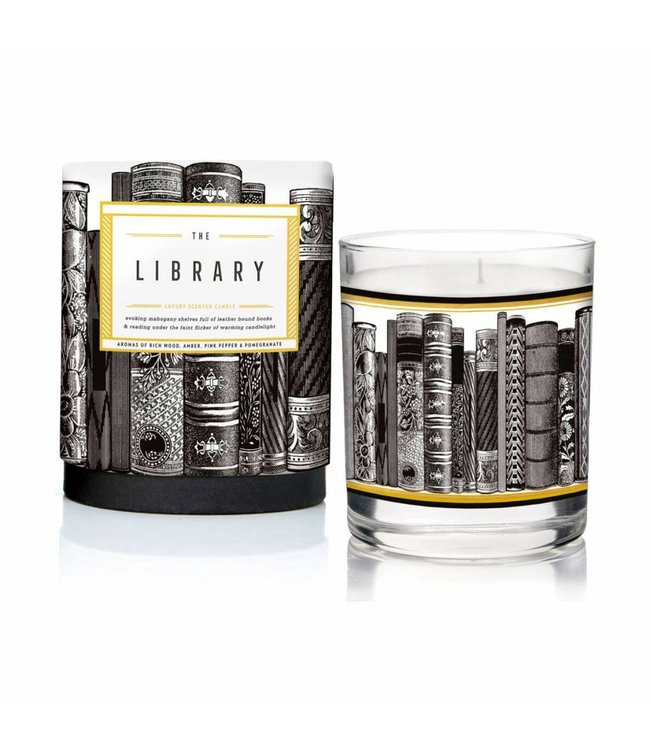 The Library Luxury scented candle