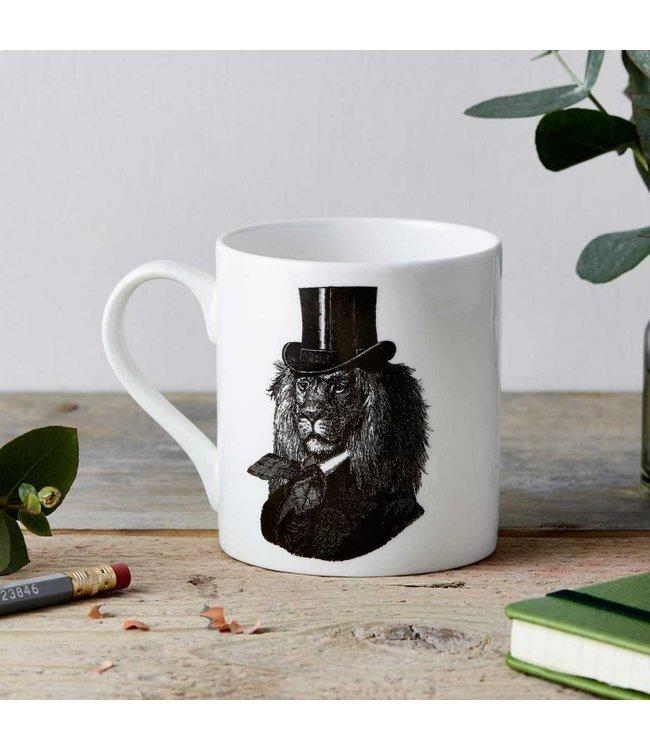 Dandy Lion Fine China Mug