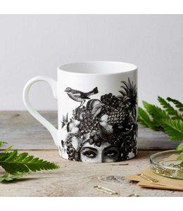 FRuit Lady Fine China Mug