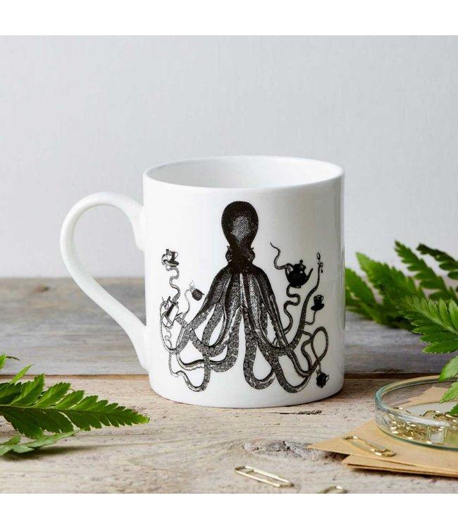 Octopus Fine China Mug