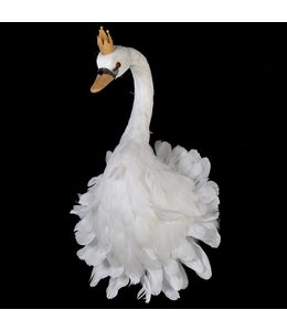 Feather Wall Hanging Swan