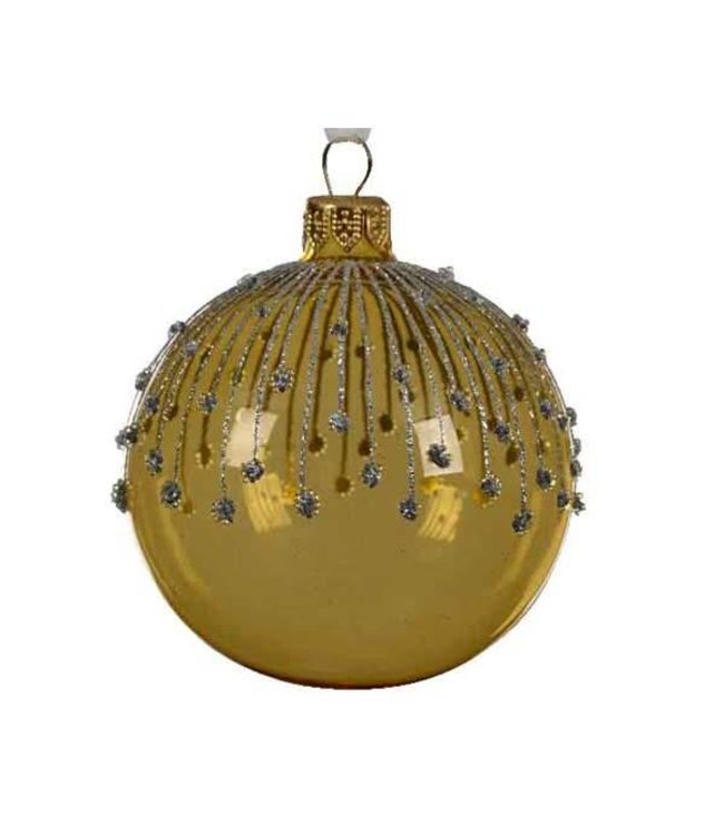 Light Gold Bauble Lines