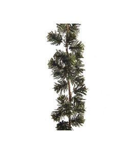 Pine garland with Pine Cones Green
