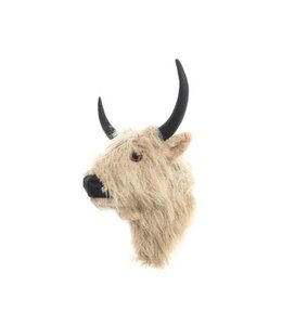 Faux Fur Yak Head