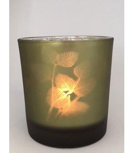 Wikholm Form Lantern Leaf Olive Green