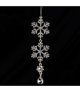 Crystal Snowflake Drop