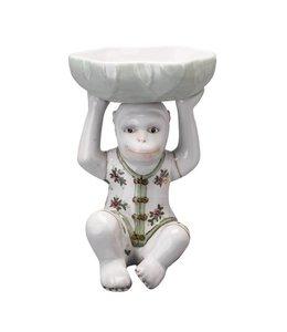 Darwin Ceramic monkey tray