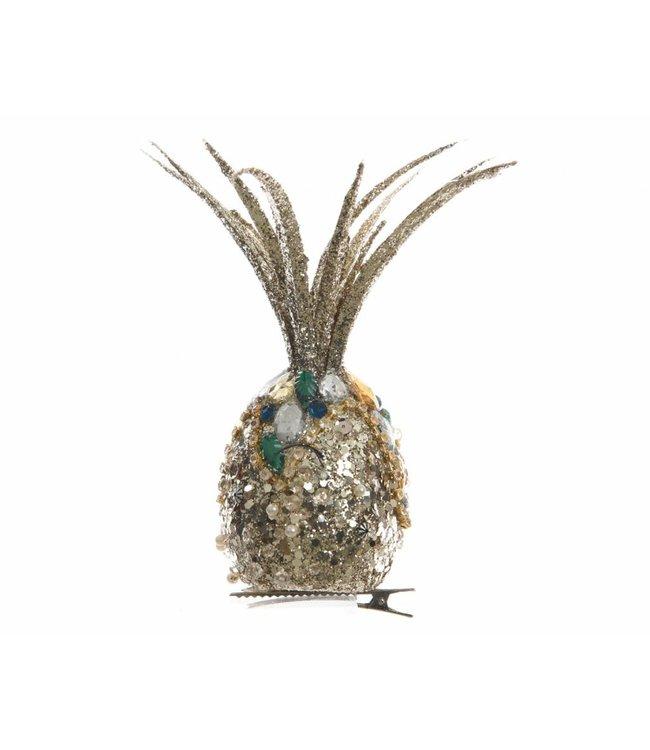 Large Pineapple Clip Decoration