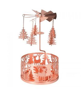 Copper Christmas Tree Mobile