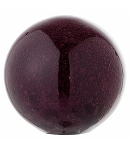 Bloomingville Deco Globe Purple Glass