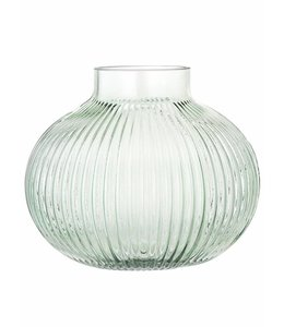Bloomingville Vase Green Glass