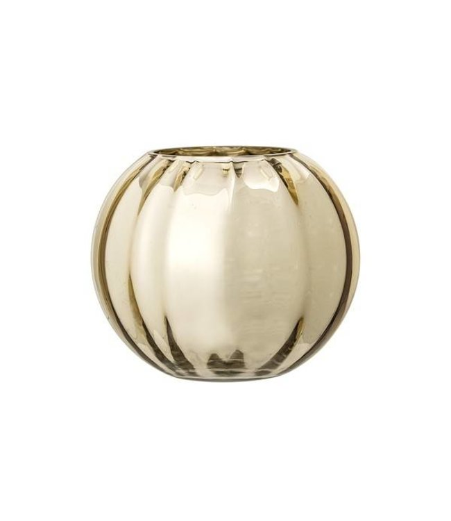 Bloomingville Vase Gold Glass