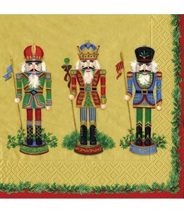 Napkin Gold Nutcracker