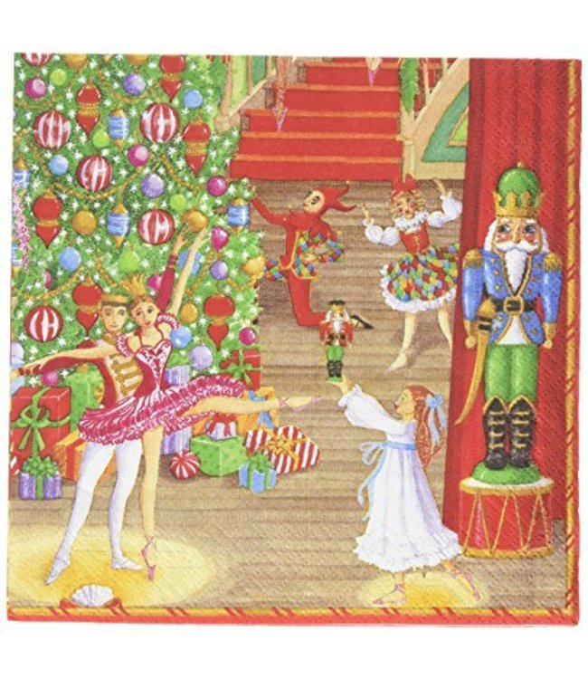 Napkin Christmas Ballet