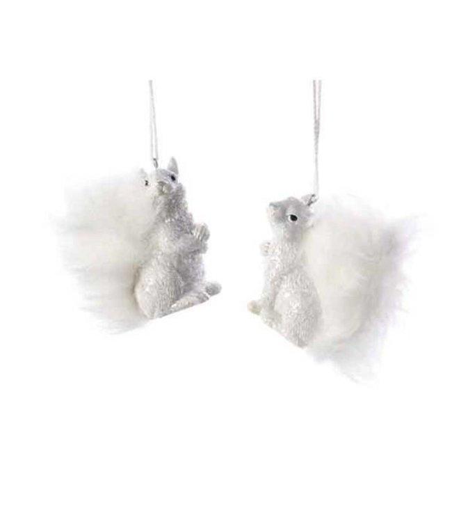 White Squirrel Tree Dec