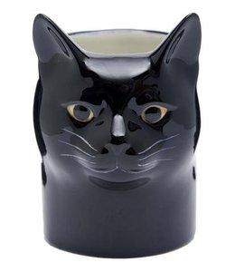 Quail Lucky cat pencil pot