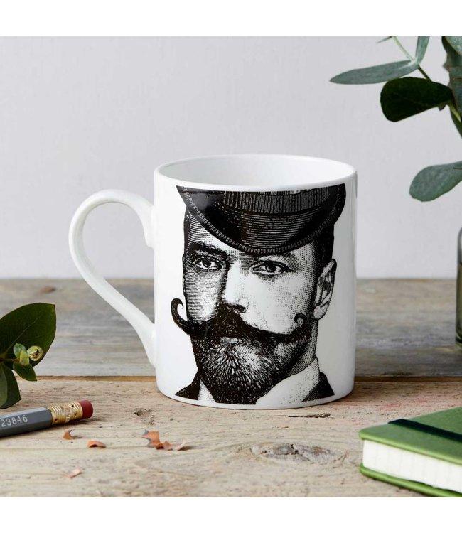 Dashing Gent fine china mug