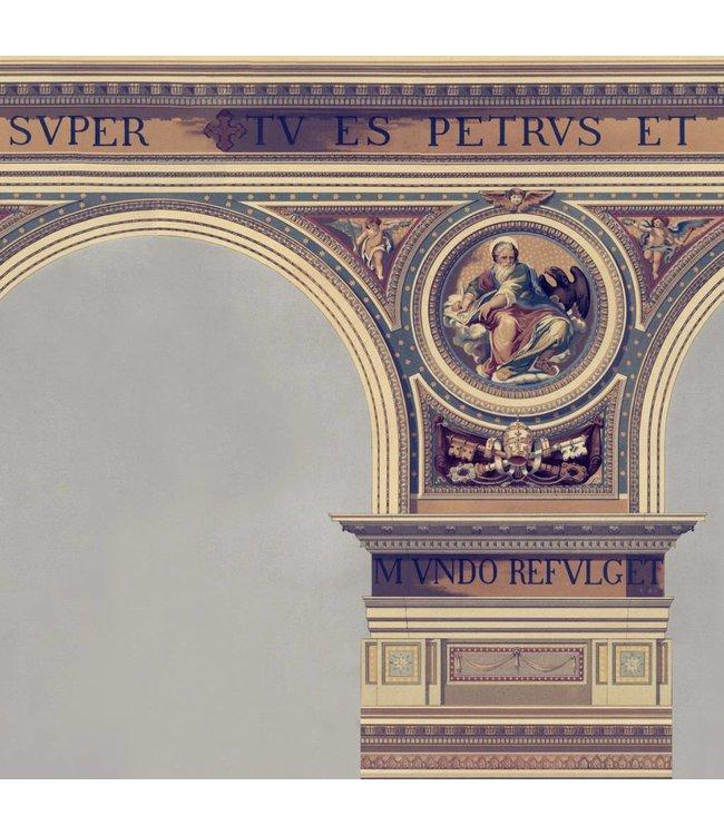 MIND THE GAP Basilique Brass Wallpaper