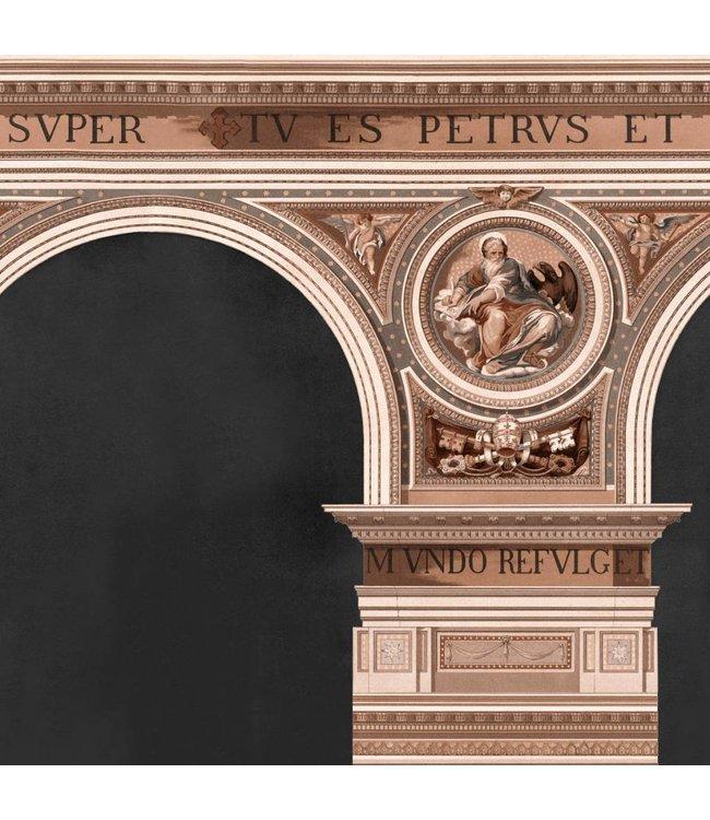 MIND THE GAP Basilique Copper Wallpaper