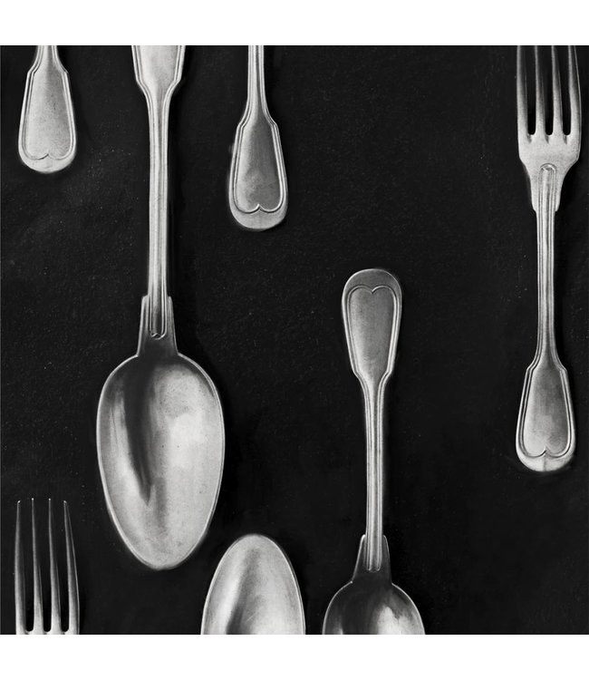 MIND THE GAP Cutlery Silver