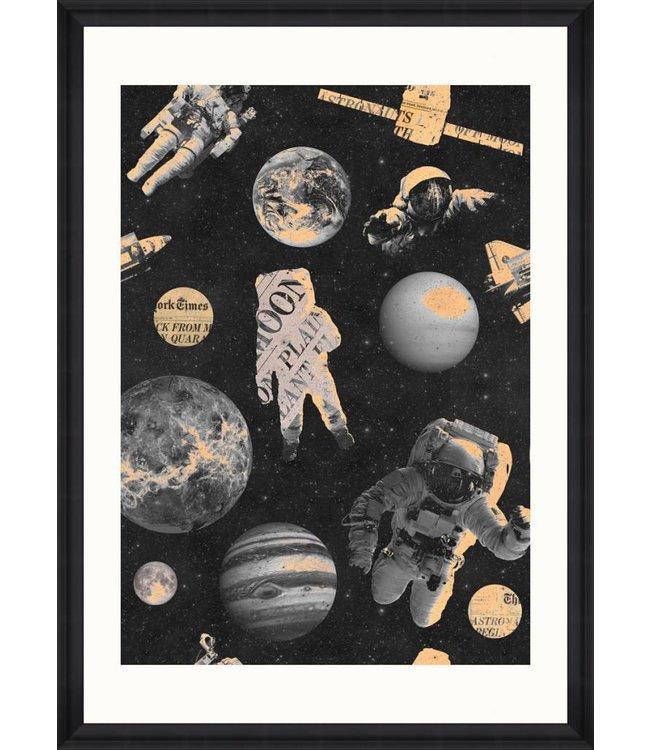 MIND THE GAP Astronauts Print
