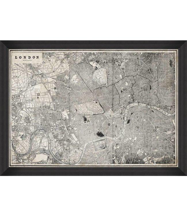 MIND THE GAP London Map