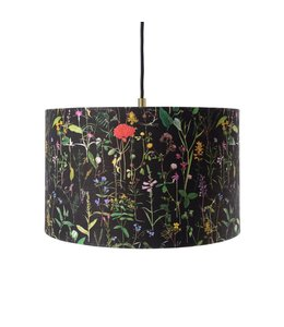 MIND THE GAP Aquafleur Anthracite Pendant Lamp 35cm