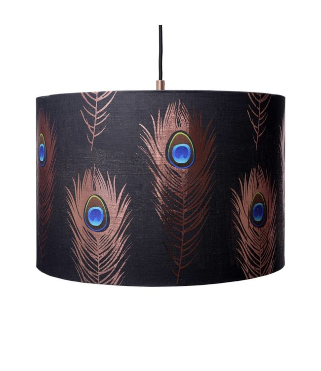 MIND THE GAP Peacock Feathers Pendant Lamp 45cm