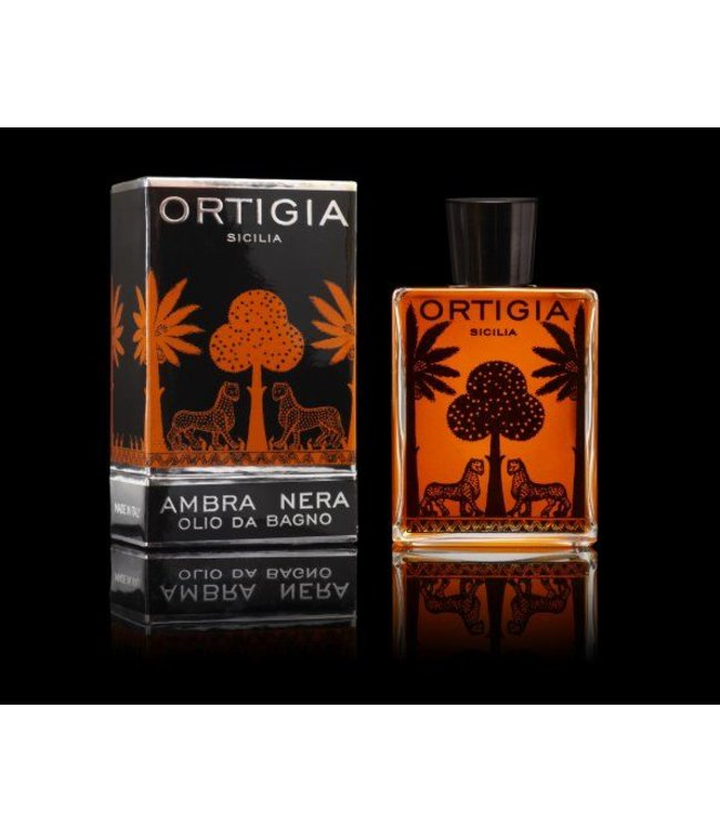 Ortigia Ambra Nera Bath Oil