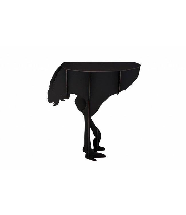 Diva Black Console Table