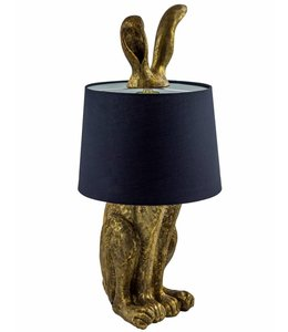 McGowan & Rutherford Gold Rabbit Ears Lamp