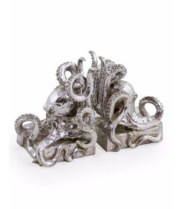 McGowan & Rutherford Silver Octopus Bookends