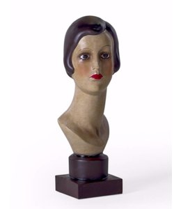 McGowan & Rutherford Female Deco Head on Stand