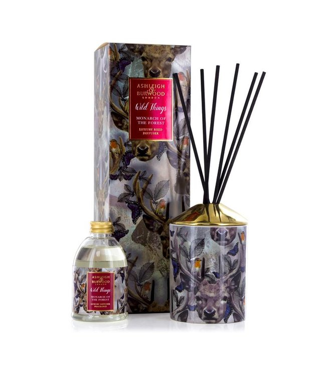 Ashleigh & Burwood Wild Things Monarch of the Forest Diffuser