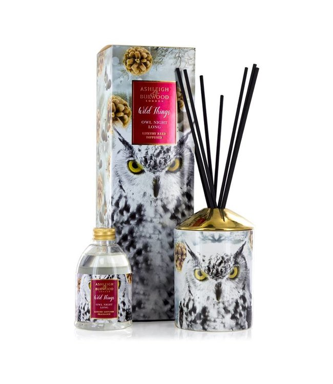 Ashleigh & Burwood Wild Things Owl Night Long Diffuser