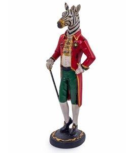 McGowan & Rutherford Standing gentry zebra