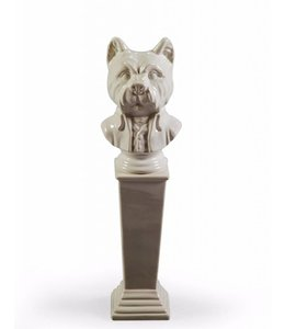 McGowan & Rutherford Large Terrier Ceramic Bust