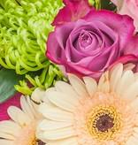 """Blumenstrauß """"Willkommen Mädchen"""""""